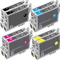 TO711 TO712 TO713 TO714 - Lot de 8 Cartouches compatibles Epson